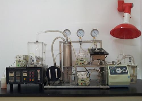 船用油清净性能模拟试验机及方法
